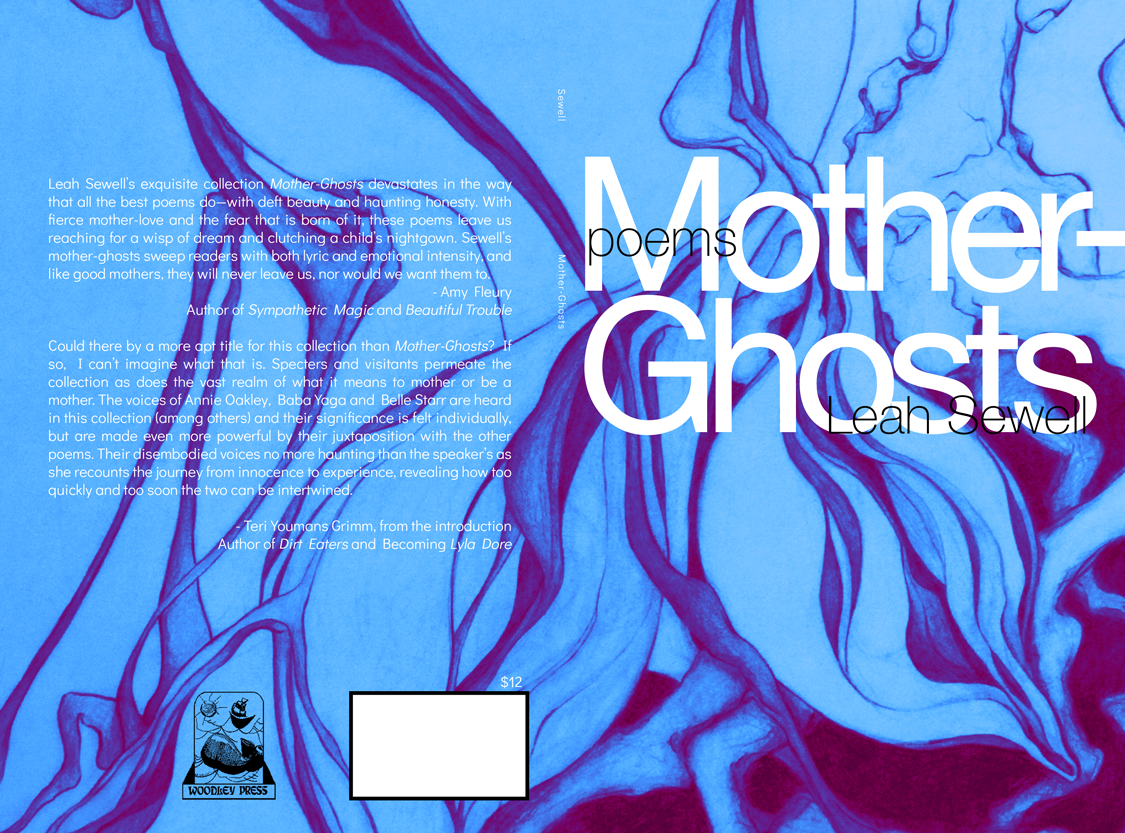 Cover of Mother-Ghosts by Leah Sewell; original artwork by Ashley Laird